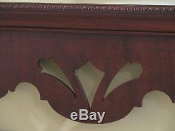 30535EC BAKER Large Mahogany Chippendale Wall Mirror