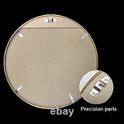 32 Wall Circle Mirror Large Round Black Farmhouse Circular Mirror Vanity Mirror