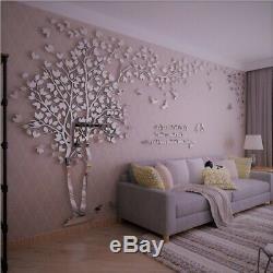 3D Flower Tree Home Room Art Decor DIY Wall Sticker Removable Decal Vinyl Mural