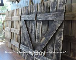 Barn Wood 12-Pane Window Mirror Rustic Mantel or Wall Hanging Large Mirror 46x36