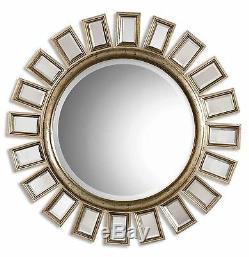 Brilliant 34 Sunburst Starburst Wall Mirror HORCHOW Large Mirrored Rays Silver
