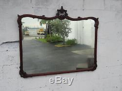 Chinese Chippendale Large Wall Bathroom Vanity Mirror 9301