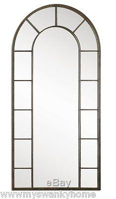 Extra Large FULL LENGTH Palladian Arch Wall Mirror Long Horchow Palais Window