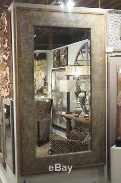 Extra Large Textured Beveled Wall Floor Mirror XL 74