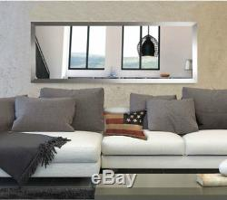 Extra Large Wall Mirror Living Bed Bath Room Floor Big Oversize Wide Wood Frame