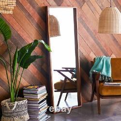 Full Body Length Mirror Wall Leaning Floor Mirror Bedroom Hallway Large 65x24 in