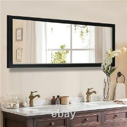 Full Length Floor Mirror Body Wall Mounted Large Size Leaning Hanging Bedroom