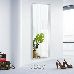 Full Length Floor Mirror Free Standing Stand Wall Mounted Large Size Hanging