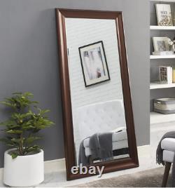 Full Length Floor Mirror Wall Hang Leaner Large Bedroom Lounge Bronze Bathroom