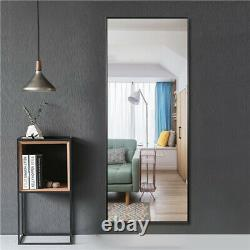Full Length Floor Mirror Wall-mounted Standing Hanging Leaning Bedroom Decor