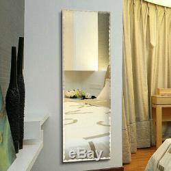 Full Length Mirror FullSize Floor Mirror Wall Extra Large Frameless Dress Mirror