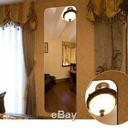 Full Length Mirror Wall Extra Large FullSize Floor Mirror Frameless Dress Mirror