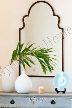 Gorgeous Extra Large 41 SHAPED ARCH Wall Mirror Curved Mantle Vanity Horchow