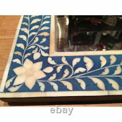 Handmade Bone Inlay Square Shaped Large with free Mirror by hpCreations