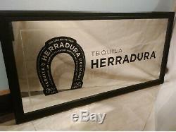 Herradura Tequila Large Beer Bar Wall Mirror Sign 3 ft x 1.5 ft
