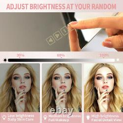 Hollywood Vanity Mirror with Lights Bluetooth Large Size Tabletop Wall