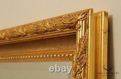 La Barge Large Gilt Frame Beveled Wall Mirror
