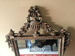 Large Antique Mirror Large Decorative Mirror for Wall Mirror Gold Ornate