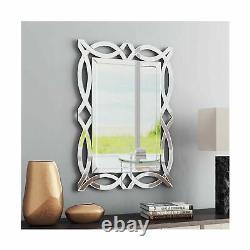 Large Antique Wall Mirror Ornate Glass Framed Venetian Decor Mirror Bedroom, B
