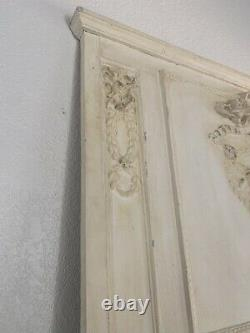 Large French Louis Style Trumeau Wood Frame Mirror Beautiful Wall Mirror