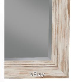 Large Full Length Floor Mirror Leaning Wall Living Bedroom Dressing Antique Wash