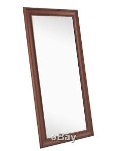Large Full Length Mirror Oil Rubbed Bronze Wall Hang Leaner Bedroom Lounge New