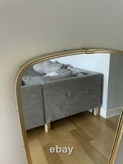 Large Mid Century Modern Schon Form Wall Asymmetrical Mirror From West Germany