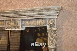 Large Ornate Neo-Classic Style Wall Mirror