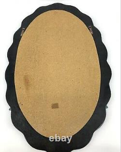 Large Ornate Victorian Style VENETIAN Wall Mirror Faux Etched Beveled
