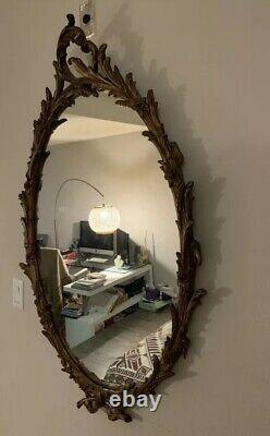 Large Vintage Antique wall mirror