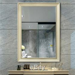 Large Wall Hanging Mirror Frame Wall Mount Mirrors Bathroom Vanity Makeup Mirror