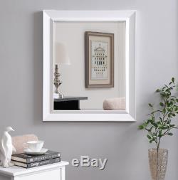 Large Wall Mirror Bathroom Vanity Living Room White Modern Frame Rectangle New