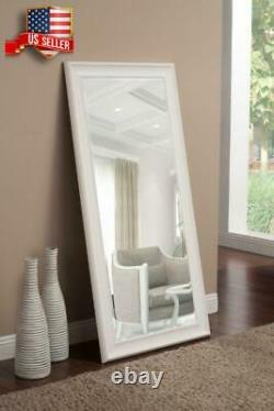 Large Wall Mirror Floor Leaning Standing Full Length Mirrors With Beveled Glass