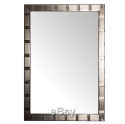 Large Wall Mirror Modern Metal Framed Rectangular Bathroom Vanity Home Decor