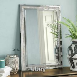 Large Wall Mirror Mother of Pearl Inlay Bathroom Vanity Living Room Home Decor