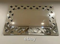 Large decorative wall mirror- Nicole Miller