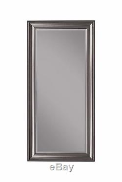 Leaning Mirror Floor Length Full Body Wall Large Big For Bedroom Tall XL Silver