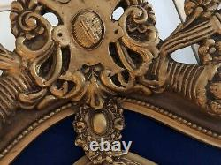 Magnificent Large Wall Gold Gild Mirror