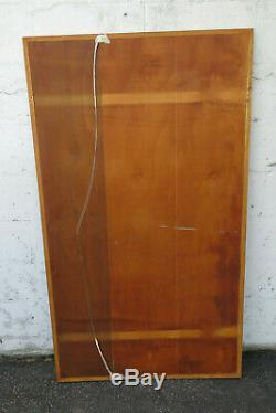 Mid Century Modern Large Wall Vanity Dresser Bathroom Mirror 1078