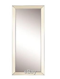 Mirrors for Wall Full Length Free Standing Mirror Floor Body Lean Beveled Large