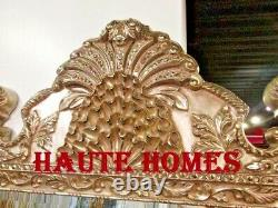 NEW HORCHOW GRAND LARGE 84 ORNATE SCROLL SILVER LEAF BAROQUE WALL FLOOR Mirror
