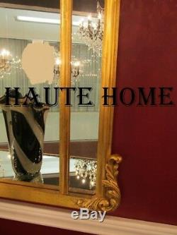 NEW LARGE 48 VICTORIAN ORNATE VENETIAN GOLD SCROLL ACANTHUS VANITY WALL Mirror