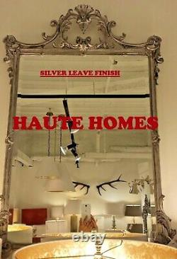 NEW LARGE FRENCH ORNATE BEVEL SCROLL GILDED GOLD 39 WALL VANITY MANTEL Mirror