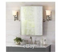 NEW Wall Decor Silver Home Large Vanity Framed Bathroom Antique Modern Mirror