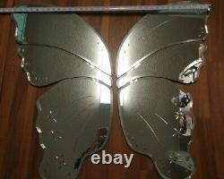 Pottery Barn Kids Jumbo Butterfly Wall Mirror Large garden nursery girls girl's