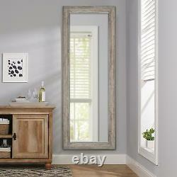 Rustic Full Length Mirror Free Standing Wall Full Body Large Size 70 x 27