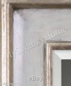Vanity Wall Mirror BLUE WOOD Large NEIMAN MARCUS Coastal Beach Island Cottage