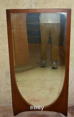 Vintage 1950s Broyhill Brasilia Atomic Mid Century Mirror Hanging Large Wall