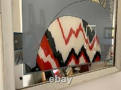 Vintage/Art Deco Vogue Advertising Mirror Large/Medium Wall Mirror