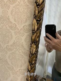 Vintage Large Hollywood Regency Ornate Wall Mirror